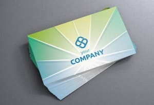 Groza Learning Center Business cards
